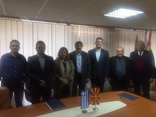 Meeting between the Macedonian and Hellenic civil aviation authorities in Skopje
