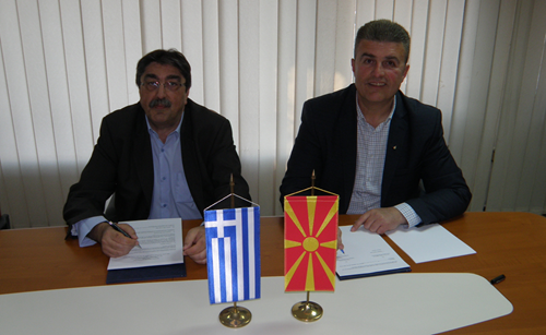 The Macedonian and Hellenic civil aviation authorities signed a Memorandum of Cooperation