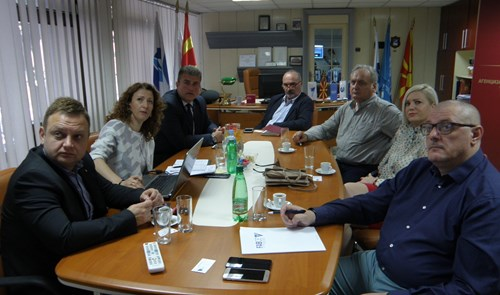 Meeting between the Macedonian and Bosnian civil aviation authorities in Skopje