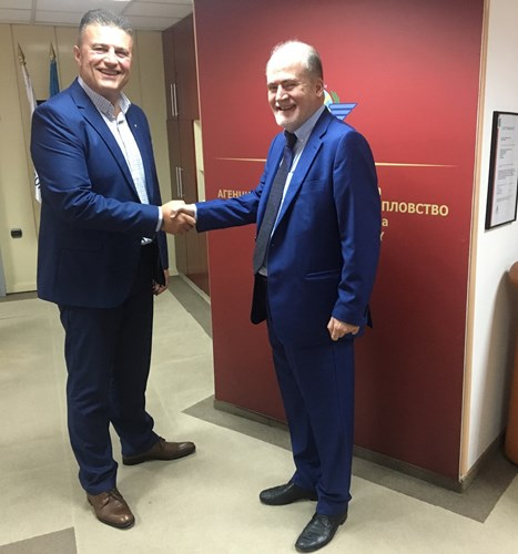 Meeting between the Director General of the CAA Tuntev with the Spanish ambassador Sera