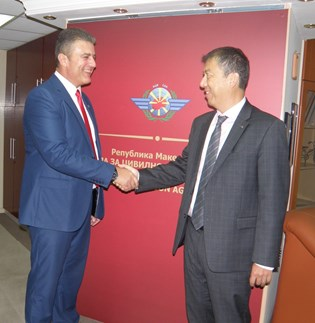 EASA's Executive Director, Patrick Ky makes his first visit to the CAA