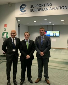 The Director General of the CAA Mr. Tuntev had a meeting with the Director General of EUROCONTROL Mr. Brennan