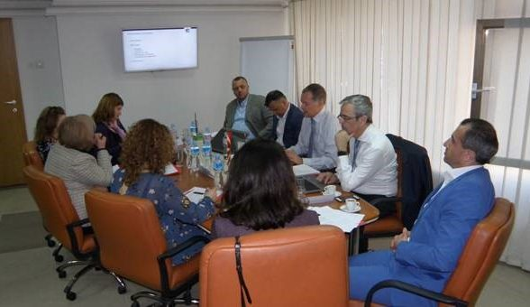 Working meeting between representatives of EUROCONTROL and CAA and MNAV