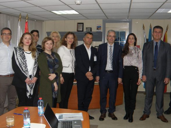 """Working meeting of the CAA, M-NAV, TAV and EUROCONTROL representatives for the implementation of the project for """"Civil Aviation Support"""""""